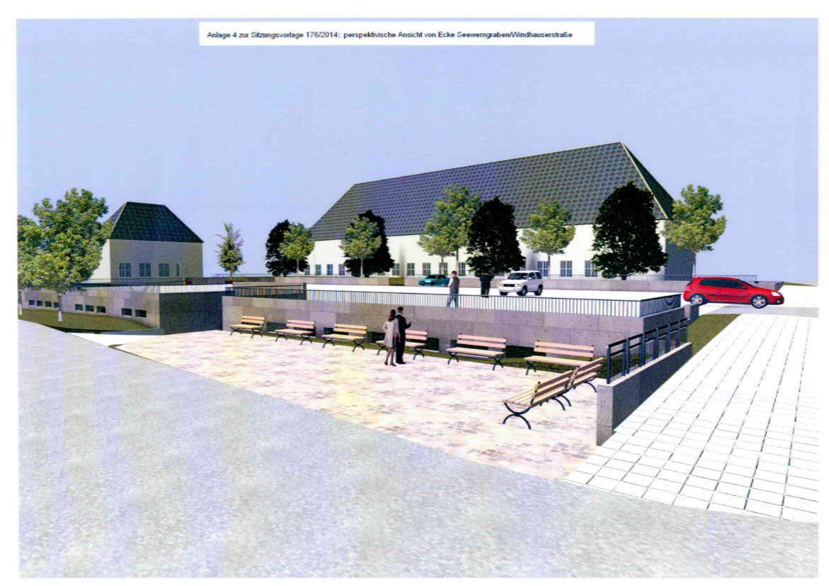 Bau der Parkpalette Feuerteich