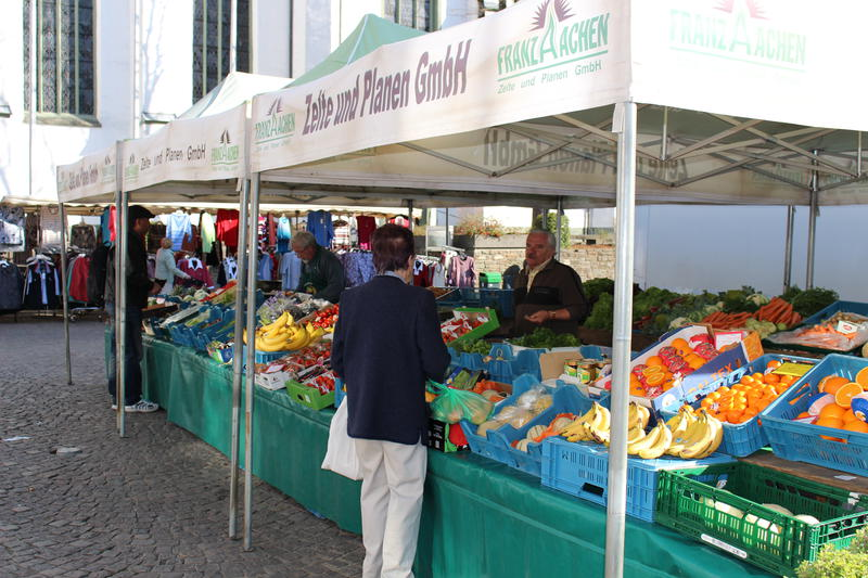 Der Attendorner Wochenmarkt