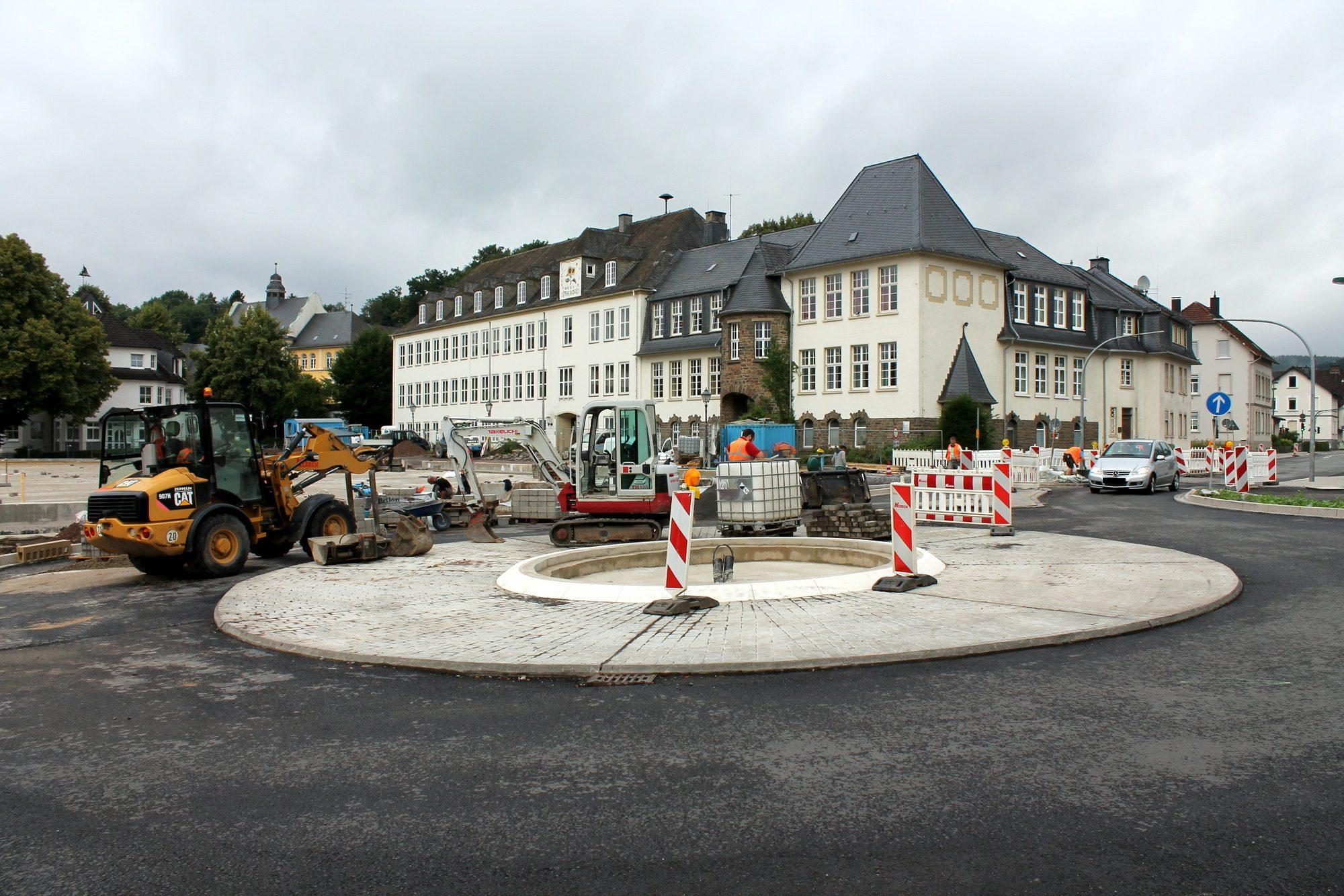 Kreisverkehr Ennester Tor