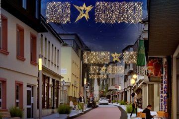 Weihnachtsbeleuchtung Anbringen.Halleluja Neue Weihnachtsbeleuchtung In Attendorn Innenstadt 2022