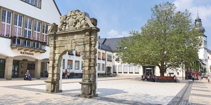 Portal Rathausplatz Attendorn