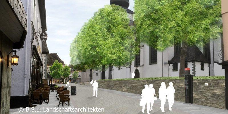 Visualisierung FGZ Niederste Straße